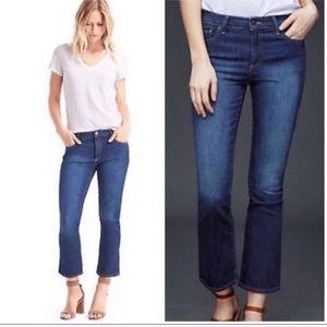 GAP Crop Kick Stretchy Denim Jeans 27